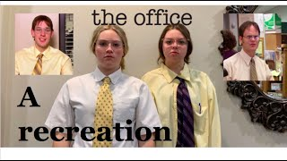 The Office: Jim Impersonates Dwight *REMAKE*