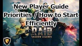 RAID: SL - New Player Priority / Efficiency Guide