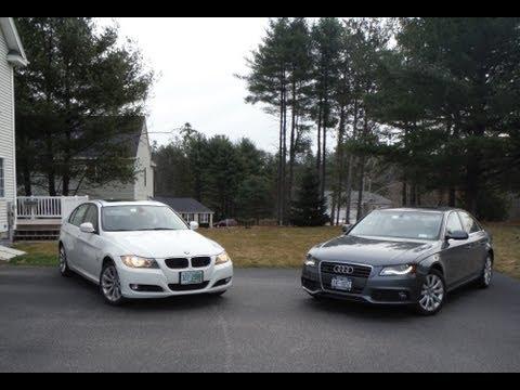 2011 BMW 328i xDrive vs. 2012 Audi A4 2.0T Quattro Comparison