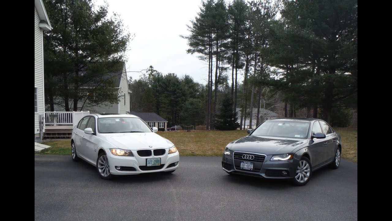 2011 Bmw 328i Xdrive Vs 2012 Audi A4 2 0t Quattro Comparison Youtube