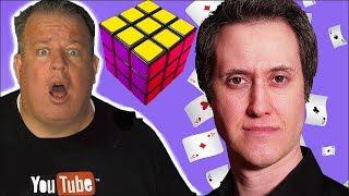 Rubik's Cube MAGIC TRICK Amazes Derral Eves