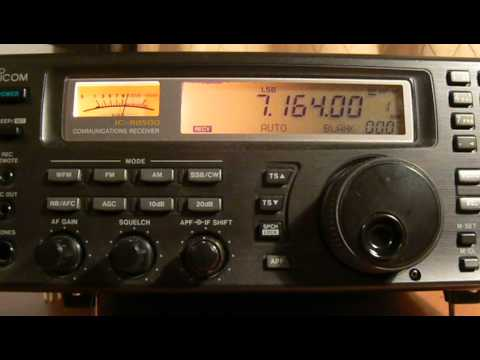 7164khz,Ham Radio,YL2GB(Riga,Latvia) 00-08UTC.
