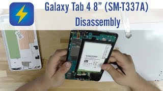 Galaxy Tab 4 8.0 (SM-T337A) Disassembly
