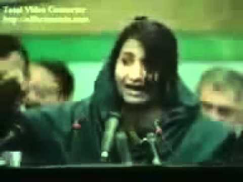 Superb speech of paki girl mp4