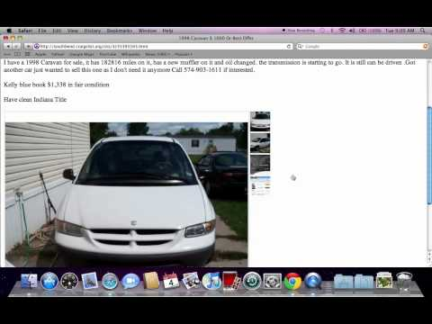 Craigslist South Bend Indiana Used Cars and Trucks For Sale by Owner ...