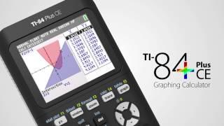 Նոր TI-84 Plus CE գրաֆիկ հաշվիչը