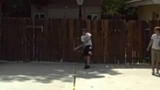 [Baseball Groin Shot] Video