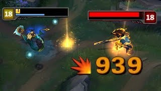 100 CRIT NAMI TOP LANE  3 ATTACKS  3 KILLS Unreal