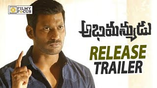 Abhimanyudu Movie Release Trailer || Vishal, Samantha, Arjun