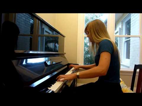 Lara plays TROLOLOL on piano