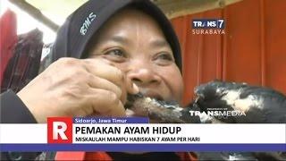 Wanita Pemakan Ayam Hidup-hidup, Habiskan 5-7 Ekor Sehari
