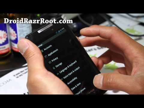How To & Review] Droid Razr/Maxx 'Droid HD' ROM | How To Save Money
