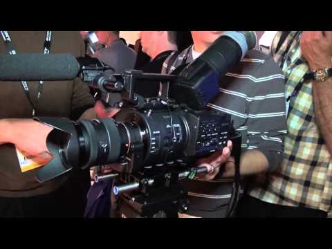 NAB 2012  - Sony NEX-FS700