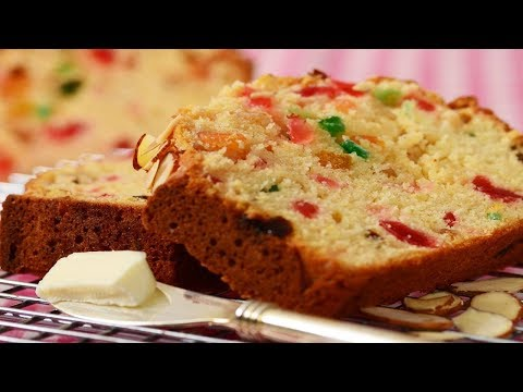 Light Fruit Cake Recipe Demonstration - Joyofbaking.com