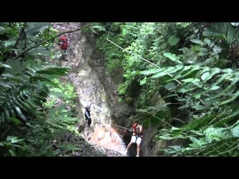 Canyoneering in Costa Rica