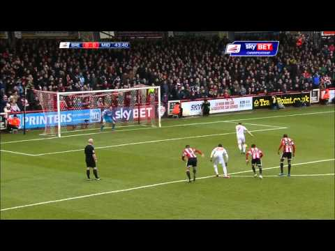 Watch: Highlights from Brentford 0-1 Boro