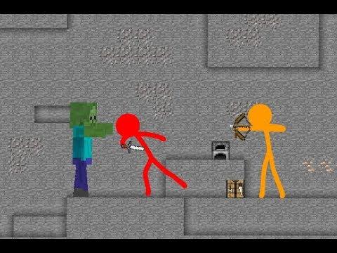 Animation vs Minecraft : NOOB FRIEND (FAN MADE)