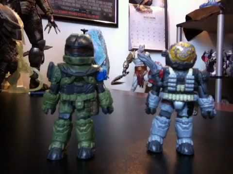 Minimates Halo Reach Halo Reach Minimates Nssr