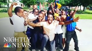 Inspiring America: Teacher Motivates Students With Music | NBC Nightly News