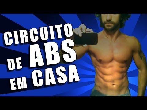 Circuito de Abdominais em Casa / Six Pack Abs Home Workout