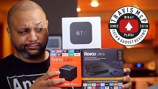 Roku Ultra vs Amazon Fire Cube TV vs Apple TV 4K - Who wins?