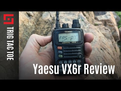 Field test review of the Yaesu VX6r - Episode 5