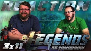 "Legends of Tomorrow 3x11 REACTION!! ""Here I Go Again"""