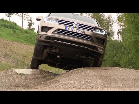 New 2015 Volkswagen Touareg OFFROAD Demo