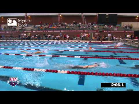 Women's 800m Freestyle Final - 2012 Columbus Grand Prix