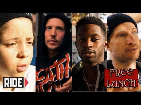 Baby Scumbag, Erik Ellington, Keelan Dadd, and Jamie Thomas on Free Lunch