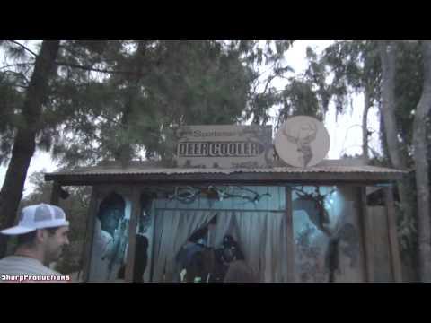 Terror Tram at Halloween Horror Nights 2013 Universal Studios Hollywood
