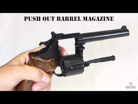 Police  44 Magnum Revolver Black