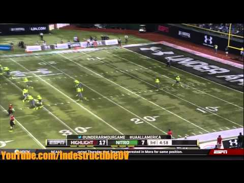 The 2013 Under Armour All-American game. This game includes the best recruits in the country. Both Vol commitments, Dillon Bates (LB) and Aaron Medley (K), play for Team Nitro. Thanks for watching ...