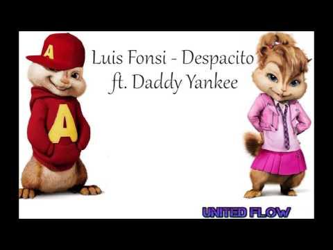 Despacito Luis Fonsi Daddy Yankee Alvin ft Alvin y las ardillas