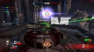 Quake Champions Easy map for railgun god   Church of Azathoth
