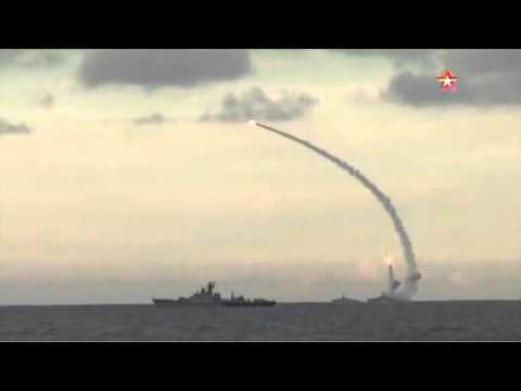 видео нанесения удара по игил с подводной лодки