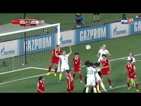 USWNT China 2015 Women's World Cup Quarterfinal Full Game USA FOX SPORTS FIFA Match