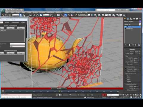 RayFire Cracks modifier tutorial