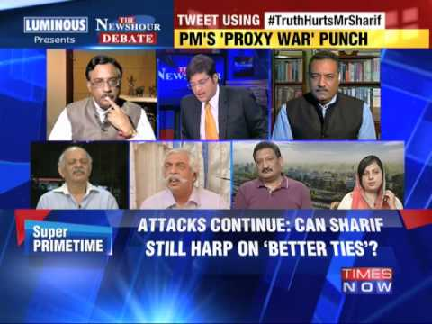 The Newshour Debate: Narendra Modi's 'proxy war' punch - Part 2 (12th August 2014)