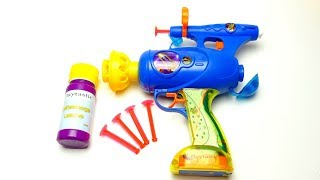 Soap Bubble Gun Toy for Kids and Friends