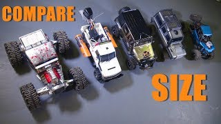 """RC ADVENTURES - HOW DOES iT """"SiZE"""" UP? TH CRAGSMAN 1:8th Scale Trail Crawler"""