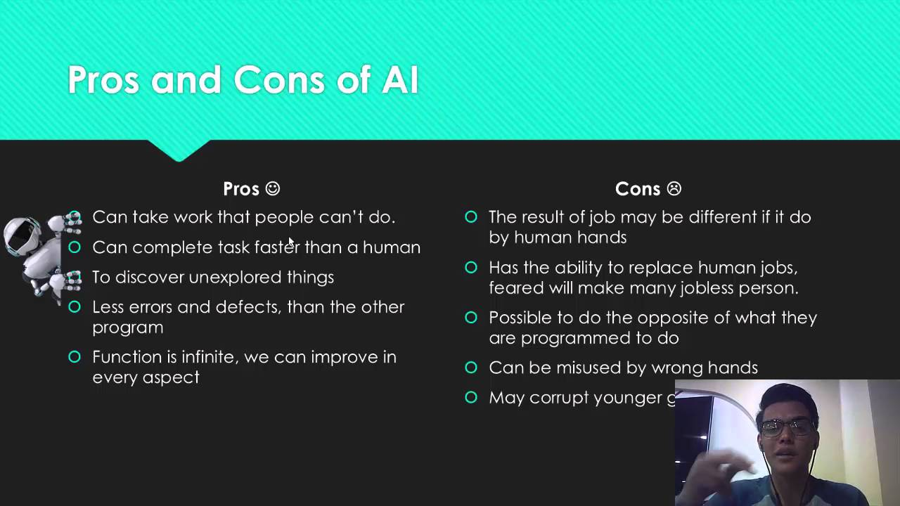 Artificial intelligence pro and cons