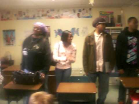 Reading to the kids at Bridgeport Hope School Pt3