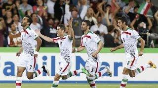 ایران امارات ۱-۰ و گًل قوچان نژاد در دقیقیه ۹۰