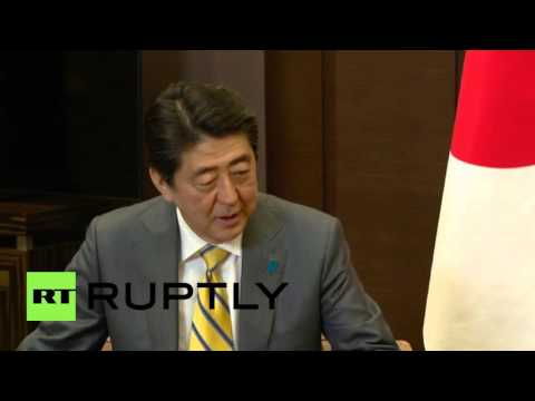 Russia: Putin and Japan's Shinzo Abe meet in Sochi