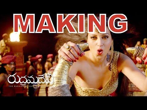 RUDRAMADEVI | MAKING VIDEO [HD] | Allu Arjun | Anushka Shetti | BIG BUDJET MOVIE Photo Image Pic