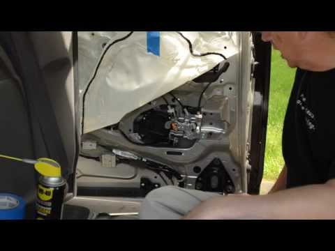 Honda Odyssey Sliding Door Repair (Actuator Assembly Lubrication/Repair)