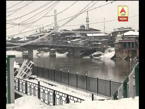 season's heaviest snowfall at kashmir