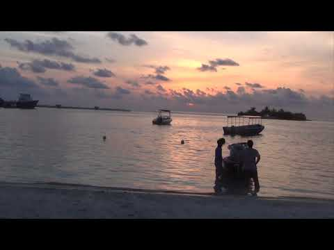 Malediven, Romantik pur Sonnenuntergang !