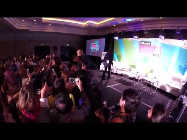 MALUMA en la conferencia Billboard de Música Latina